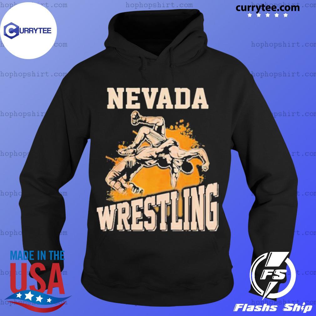 Nevada Wrestling Dad Mom For Wrestler Son Hoodie