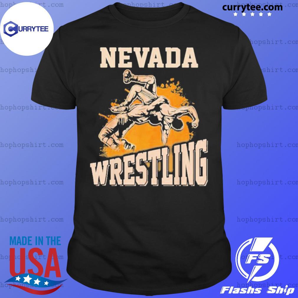 Nevada Wrestling Dad Mom For Wrestler Son shirt