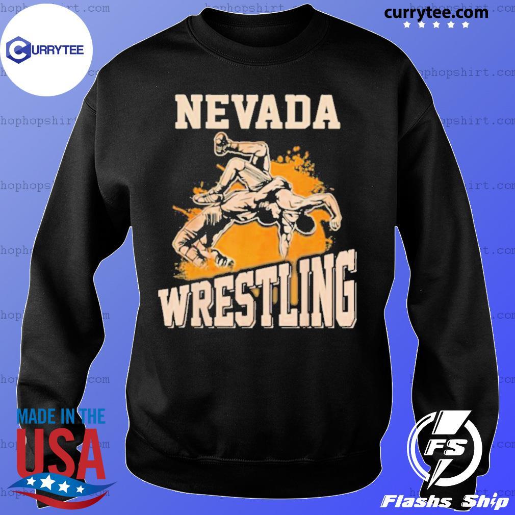 Nevada Wrestling Dad Mom For Wrestler Son Sweater