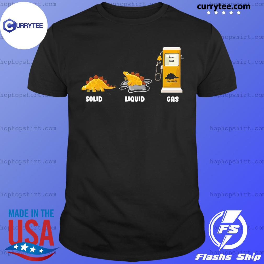 Solid Liquid Gas Shirt
