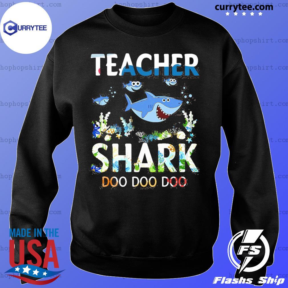 Teacher Shark Doo Doo Doo Shirt Sweater