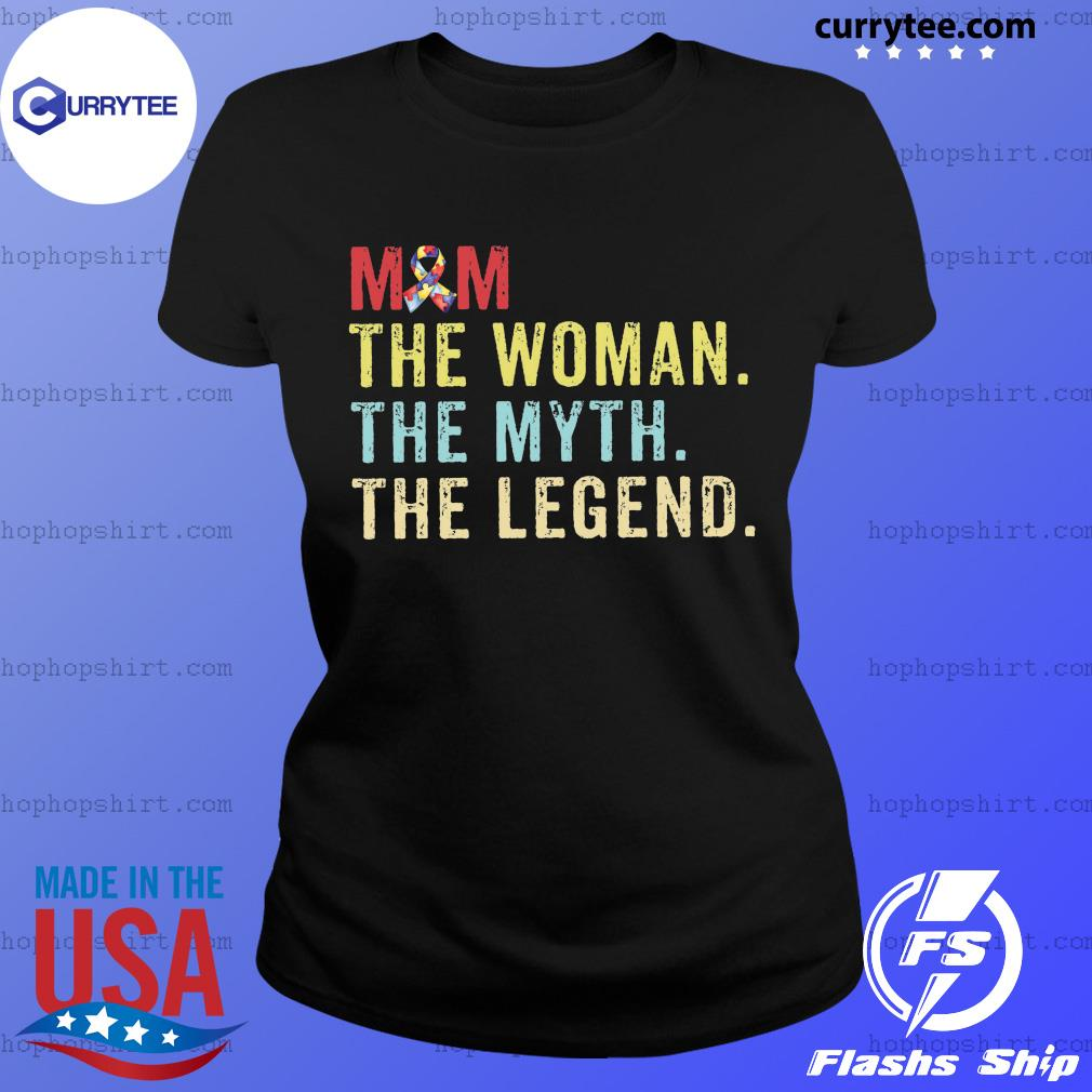Vintage Mom The Woman The Myth The Legend Shirt Ladies Tee