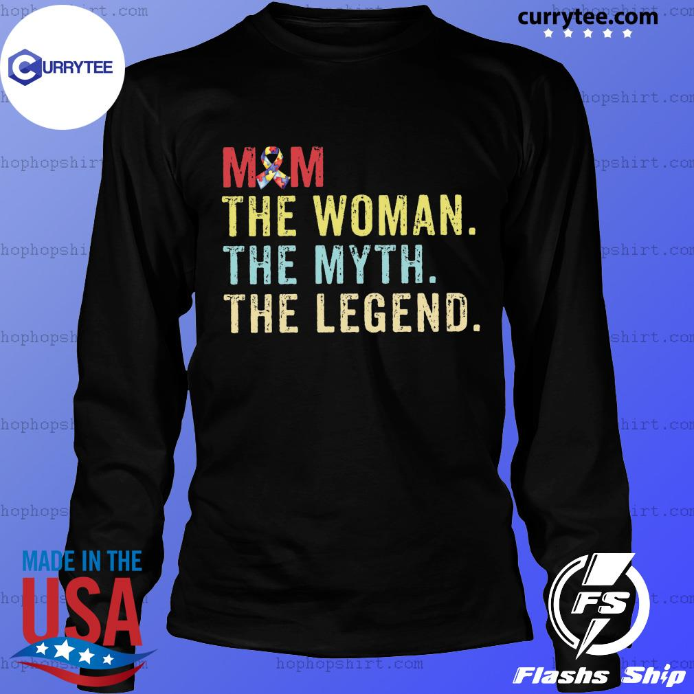 Vintage Mom The Woman The Myth The Legend Shirt LongSleeve