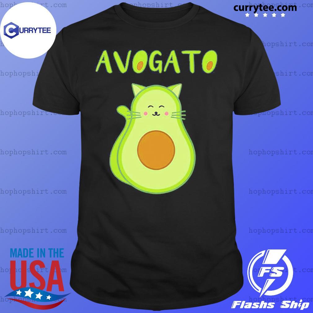 Cat Avocado Avogato Shirt