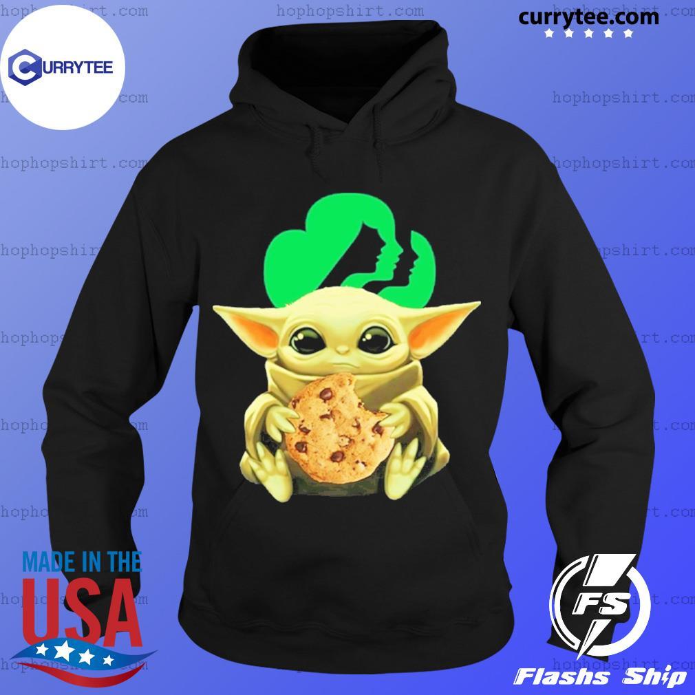 Baby Yoda Hug Girl Scouts Shirt Hoodie
