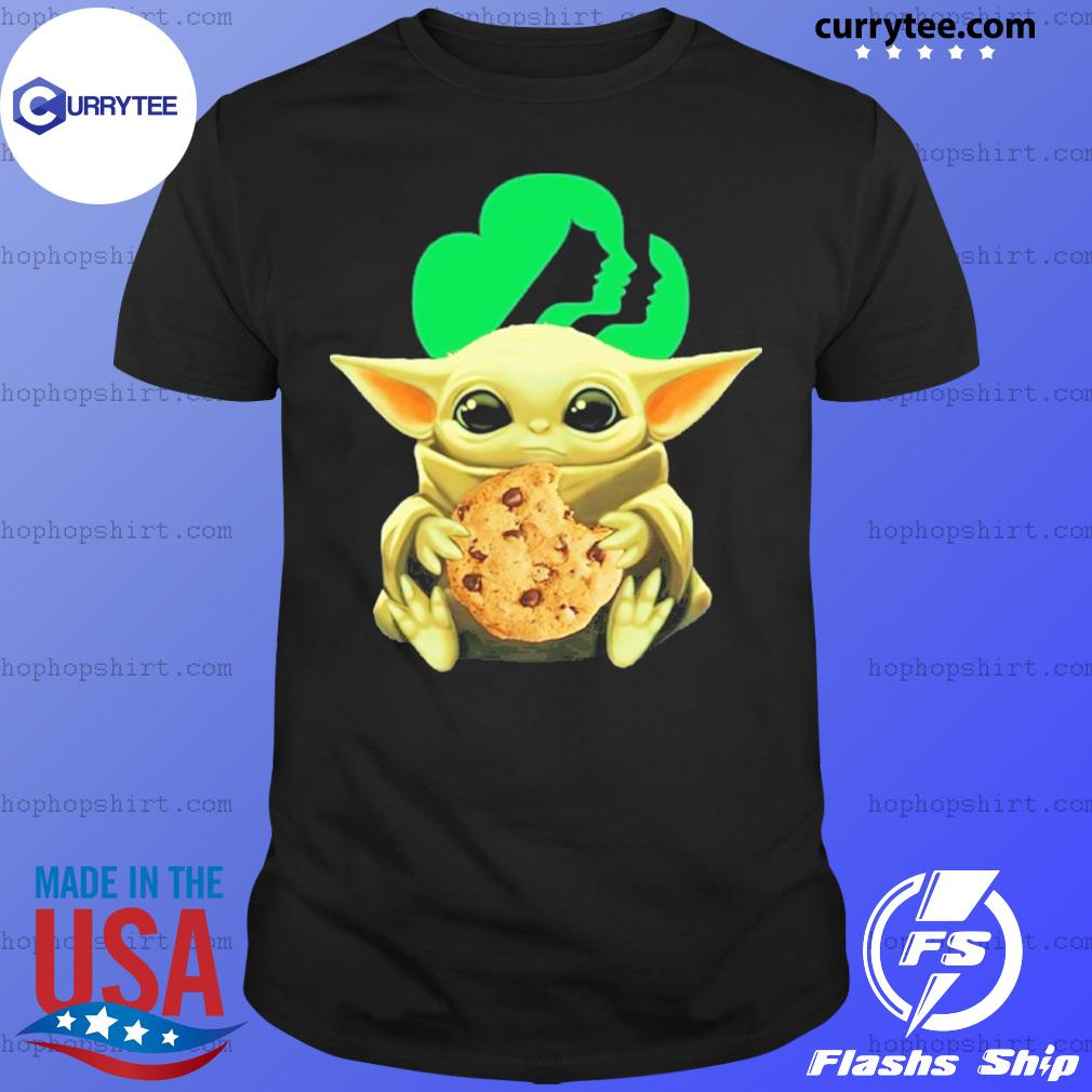 Baby Yoda Hug Girl Scouts Shirt