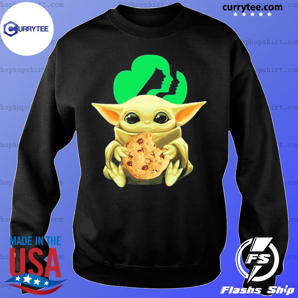 Baby Yoda Hug Girl Scouts Shirt Sweater
