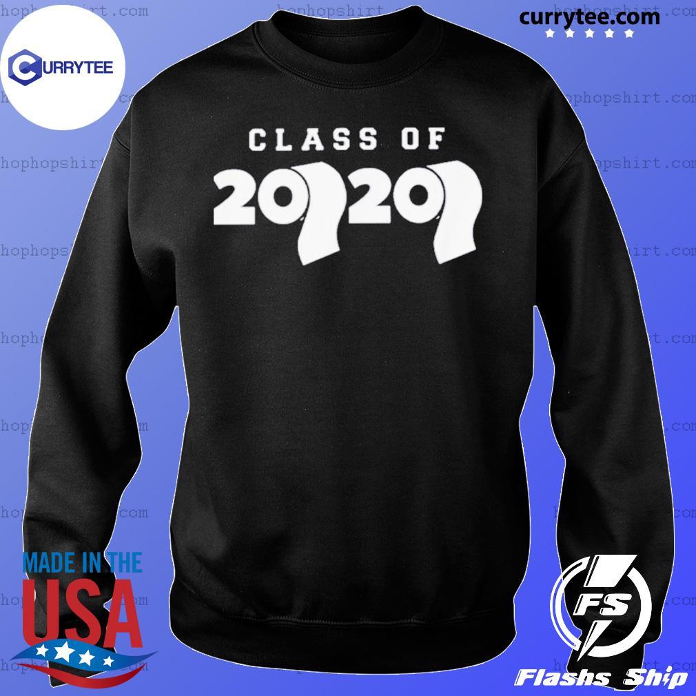 Class Of 2020 Toilet Paper Flu Virus Varsity Shirt Sweater