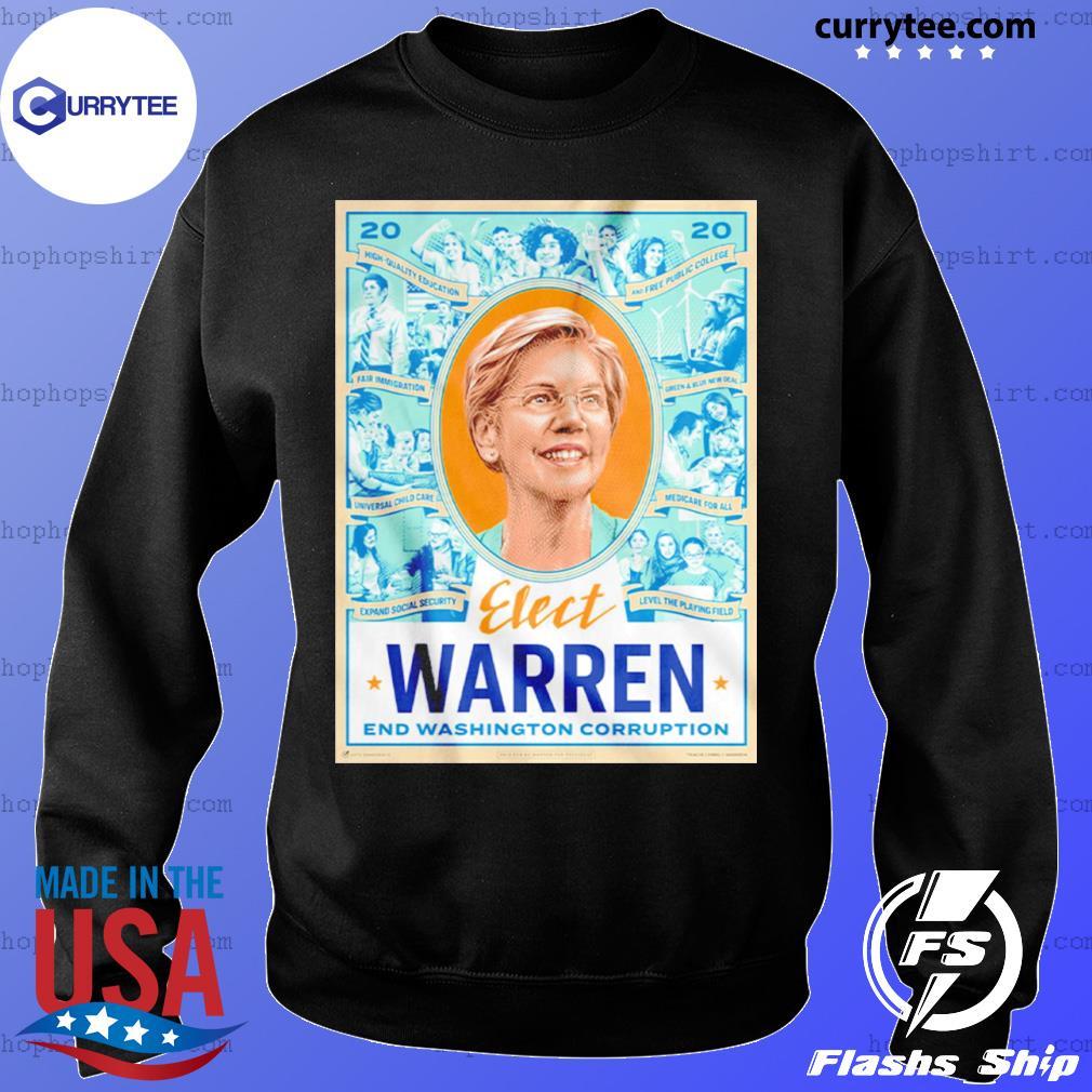 Elect Warren End Washington Corruption s Sweater