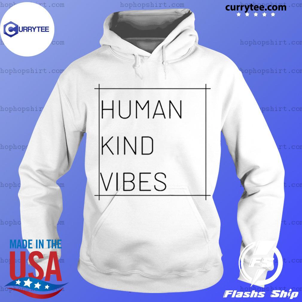 Human Kind Vibes Square Logo Shirt Hoodie