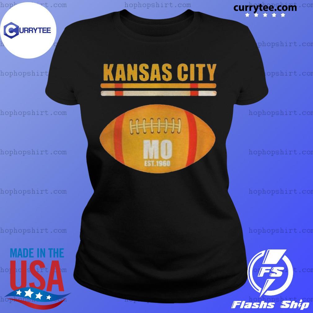 Kansas City Football Fan Missouri Kc Great 2020 Shirt Ladies Tee