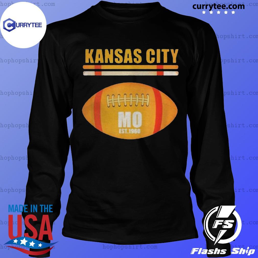 Kansas City Football Fan Missouri Kc Great 2020 Shirt LongSleeve