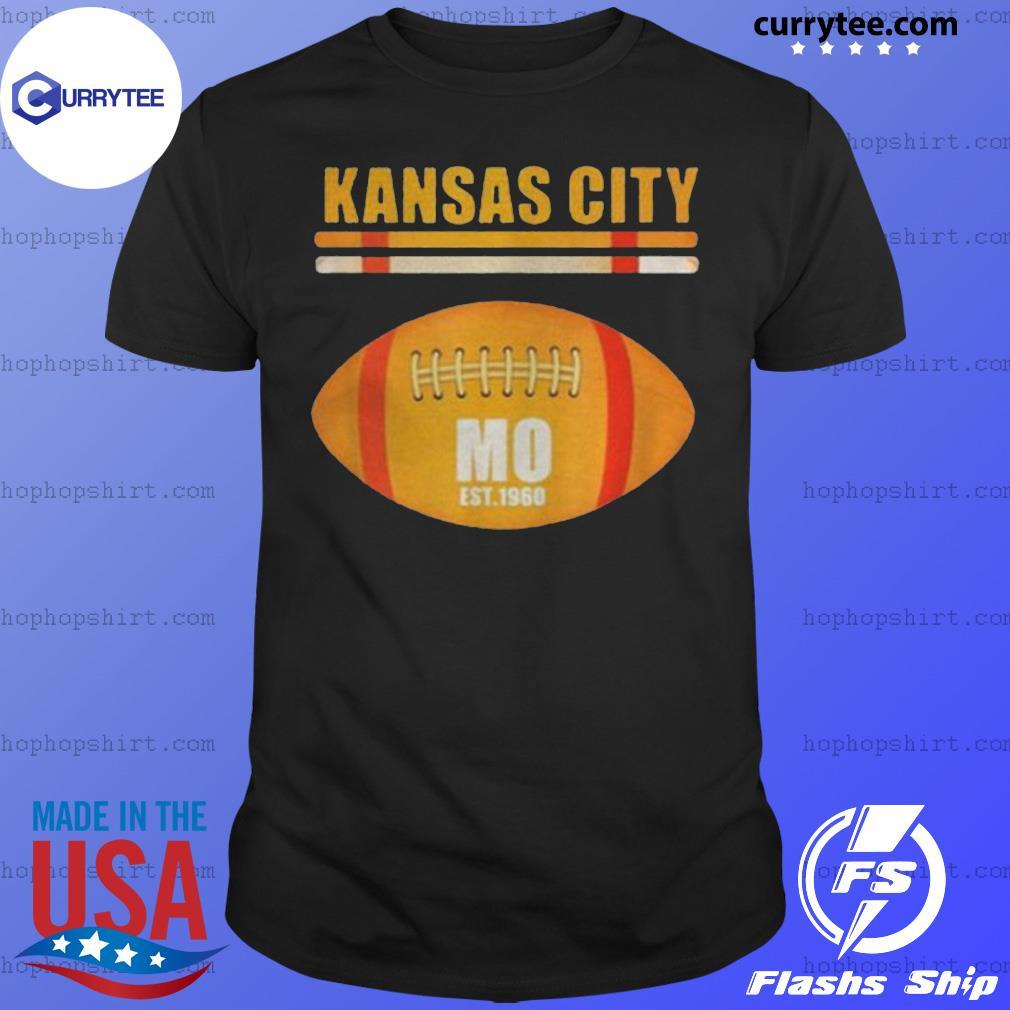 Kansas City Football Fan Missouri Kc Great 2020 Shirt