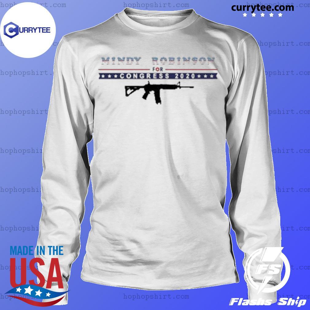 Mindy Robinson for Congress 2020 AR-15 s LongSleeve