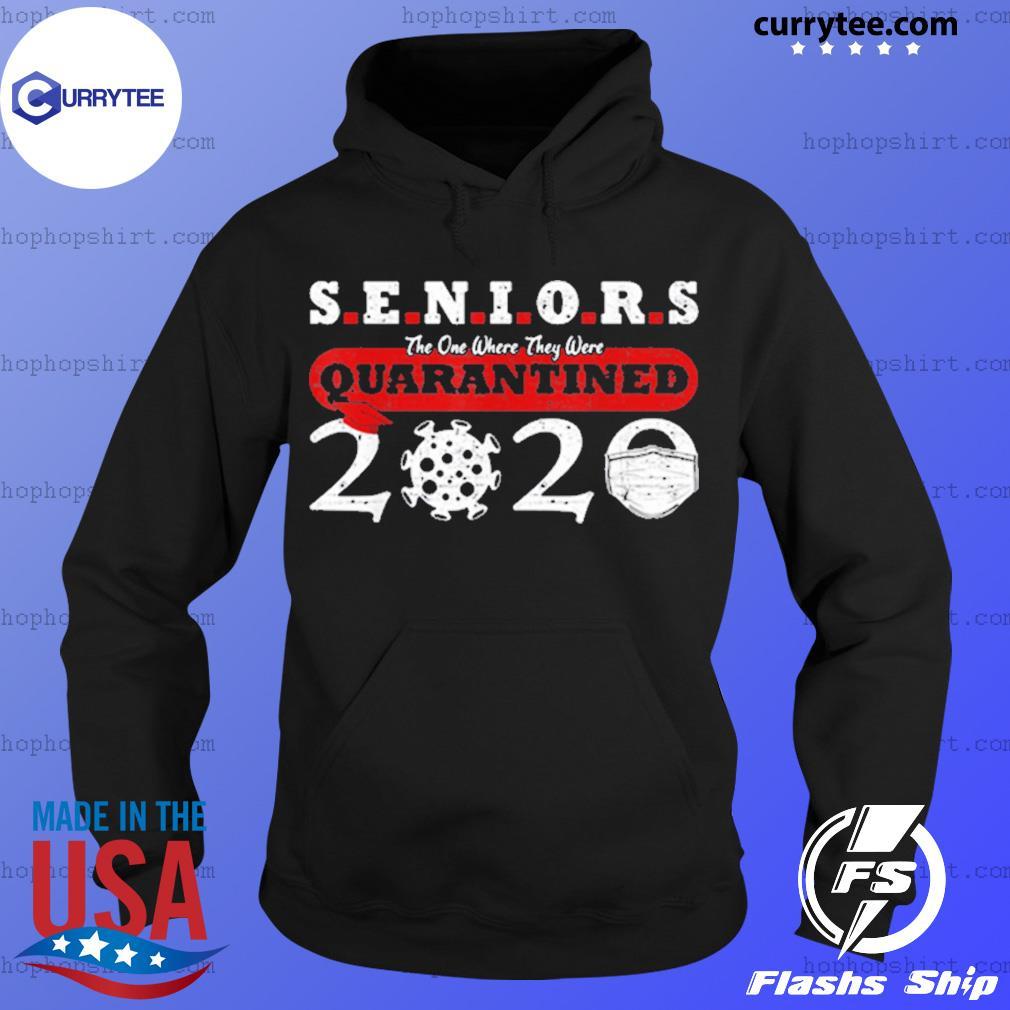 Quarantined Class Of 2020 Graduation Seniors Anti Virus Shirt Hoodie
