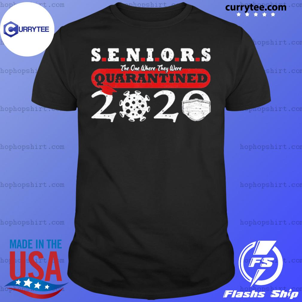 Quarantined Class Of 2020 Graduation Seniors Anti Virus Shirt