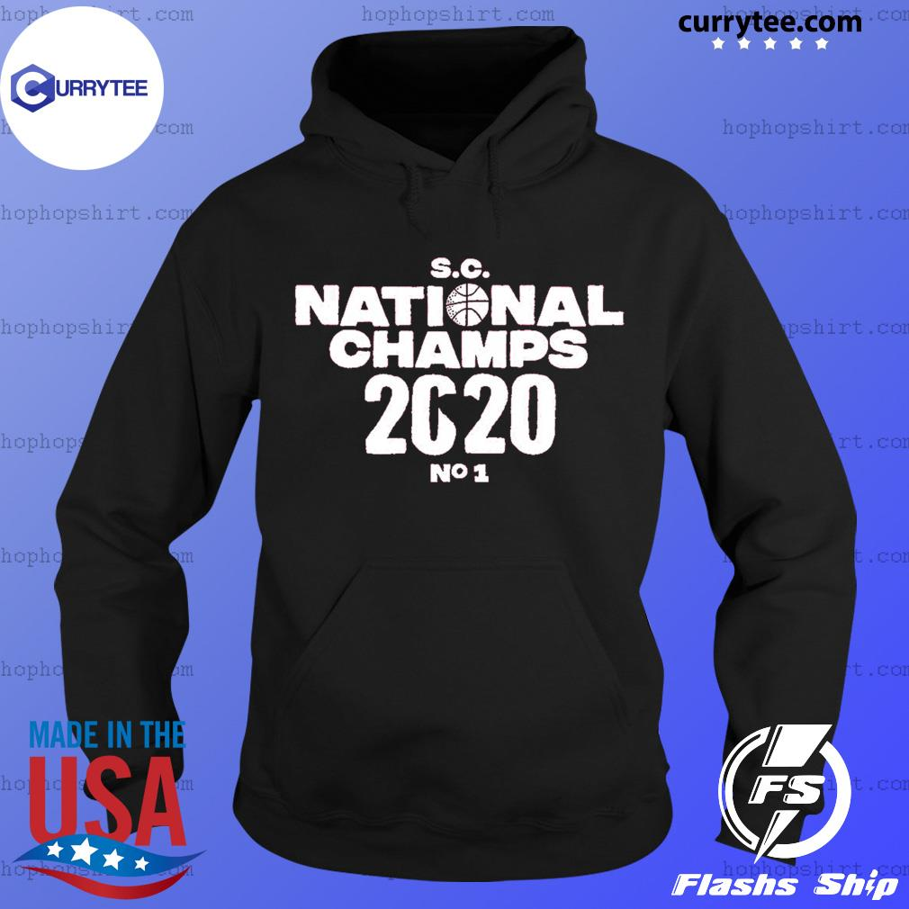 SC national champs 2020 no 1 s Hoodie