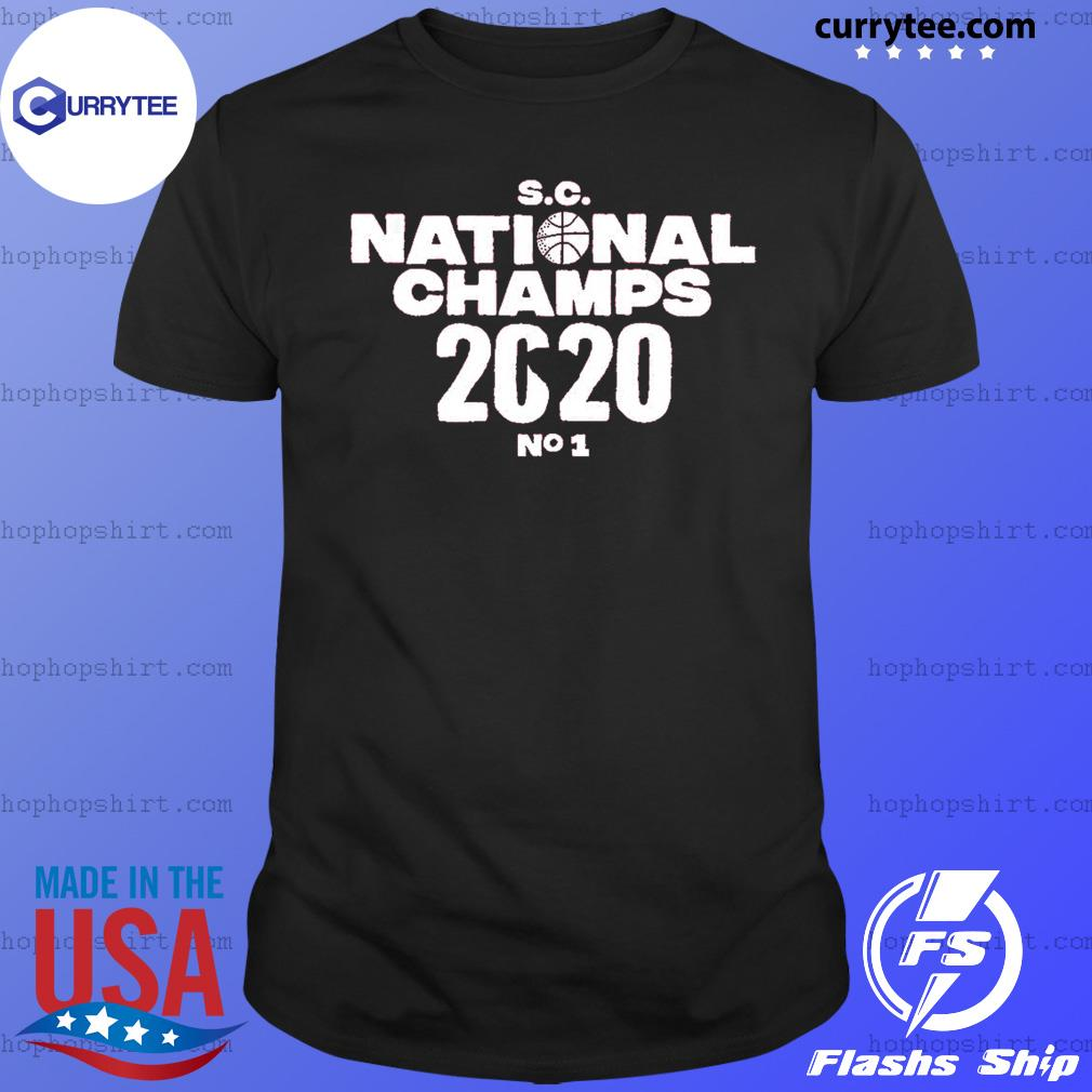 SC national champs 2020 no 1 shirt