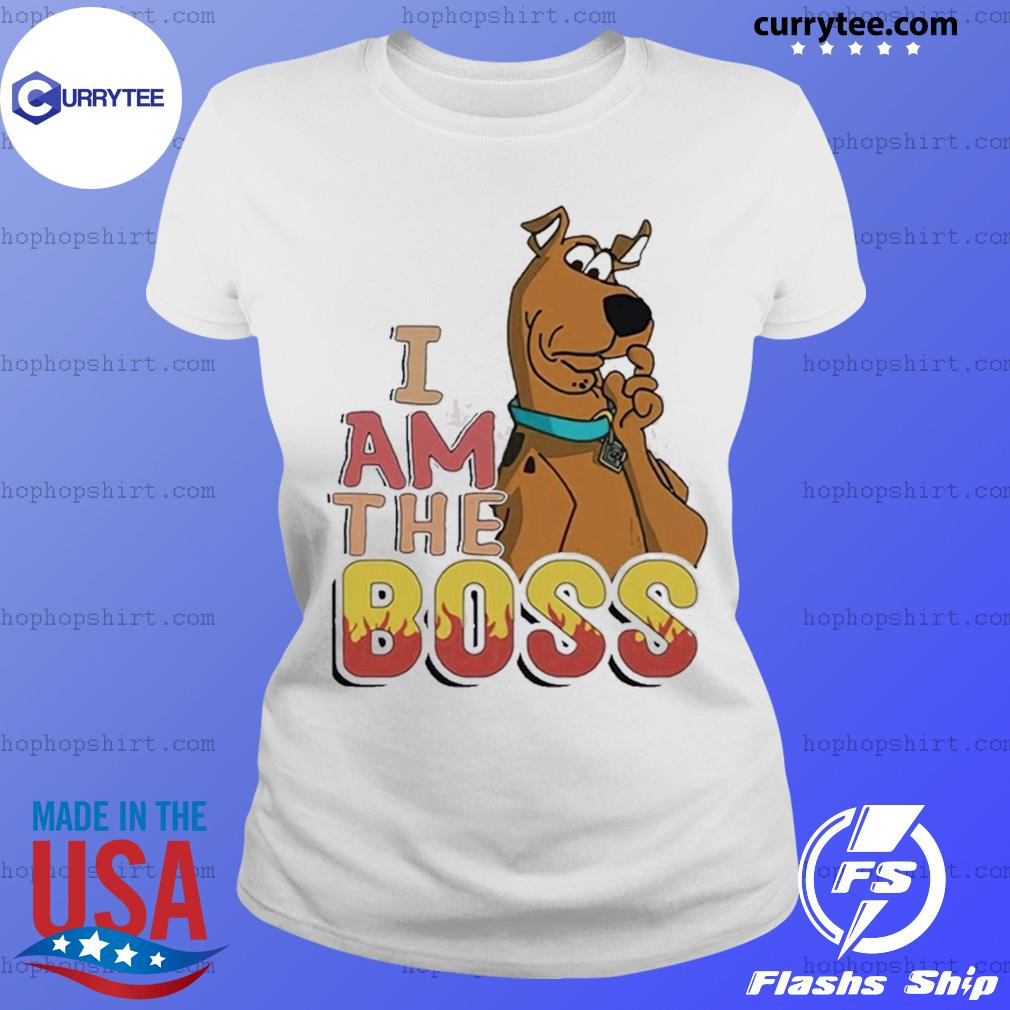 Scooby Doo I Am The Boss Shirt Ladies Tee