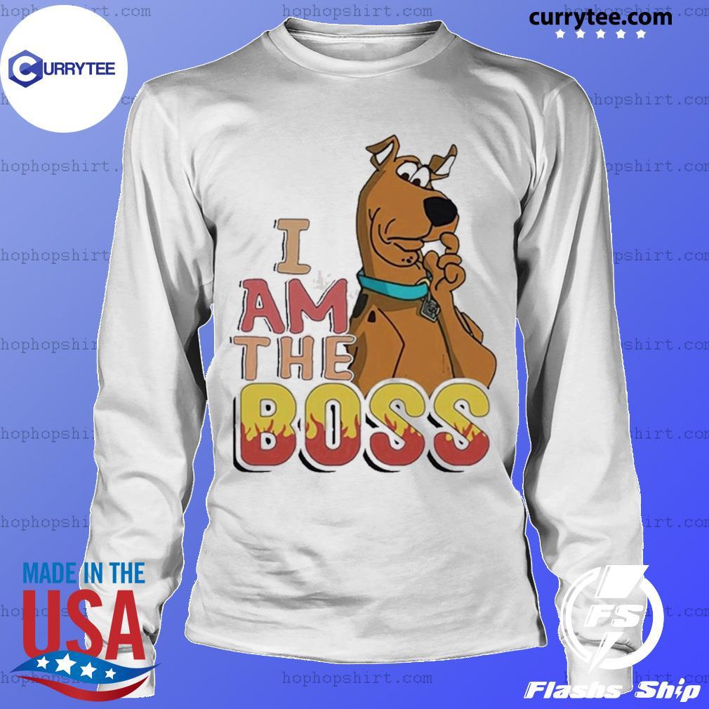 Scooby Doo I Am The Boss Shirt LongSleeve