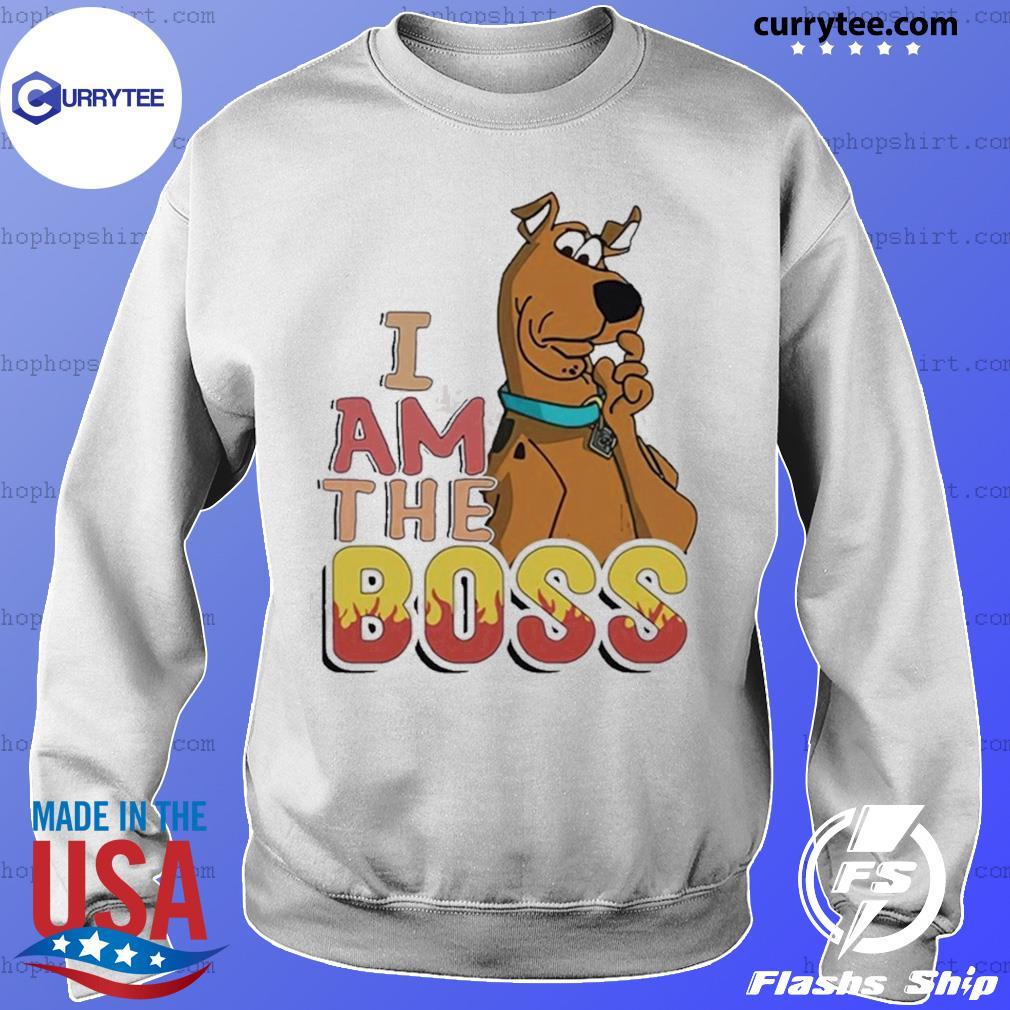 Scooby Doo I Am The Boss Shirt Sweater