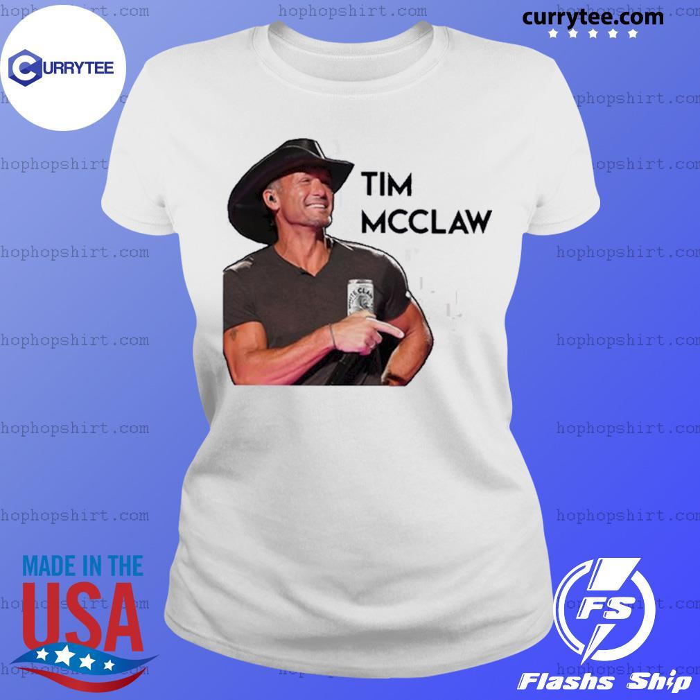 Tim mcgraw white s Ladies Tee