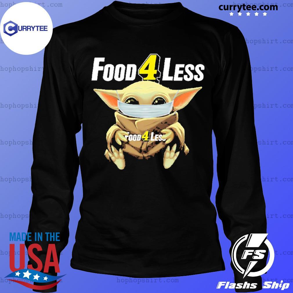 Baby Yoda face mask hug Food 4 Less s LongSleeve
