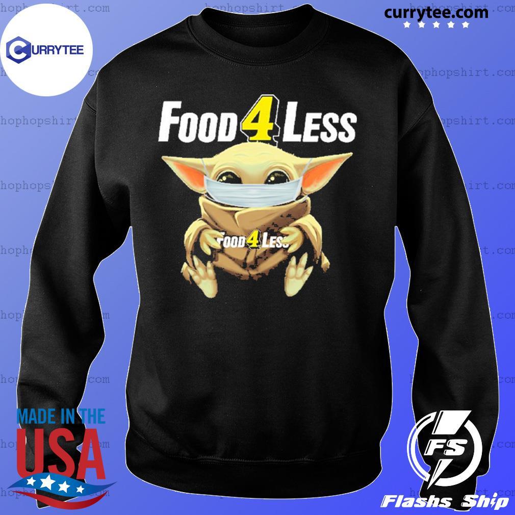 Baby Yoda face mask hug Food 4 Less s Sweater