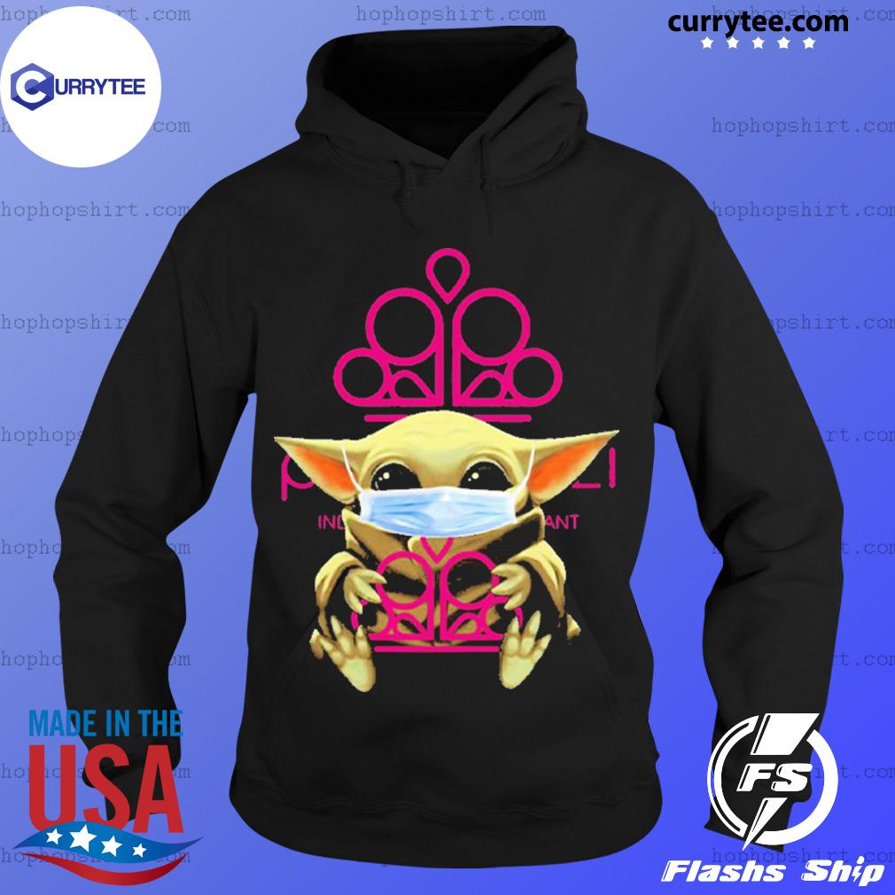 Baby Yoda face mask hug Paparazzi Accessories I can't stay at home s Hoodie