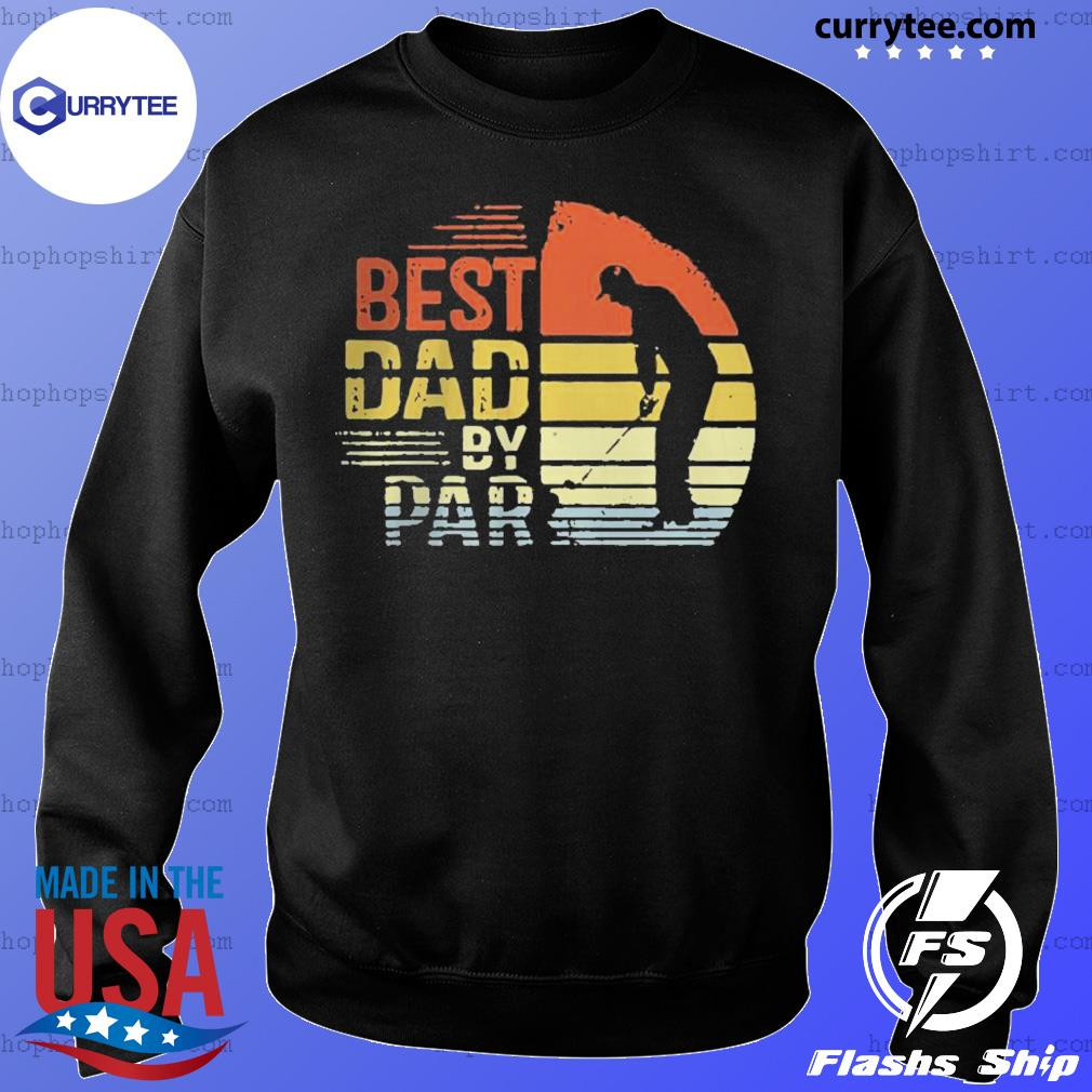 Best Dad By Par Daddy Fathers Day Golf s Sweater