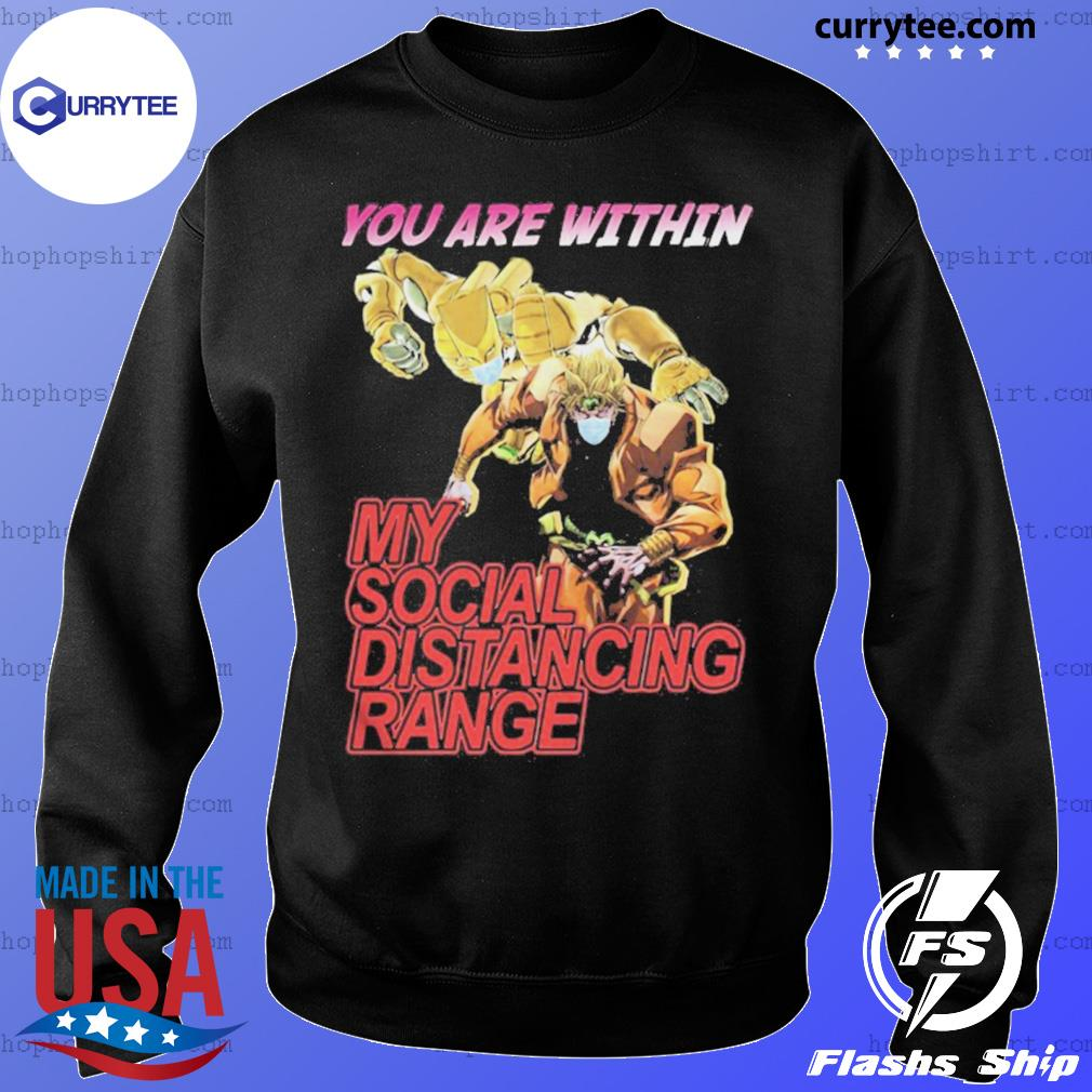 You are within my social distancing range s Sweater