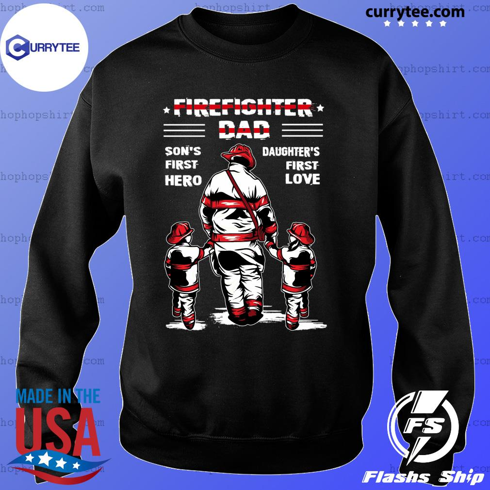 Father My Daughter is Firefighter Unisex Sweatshirt tee