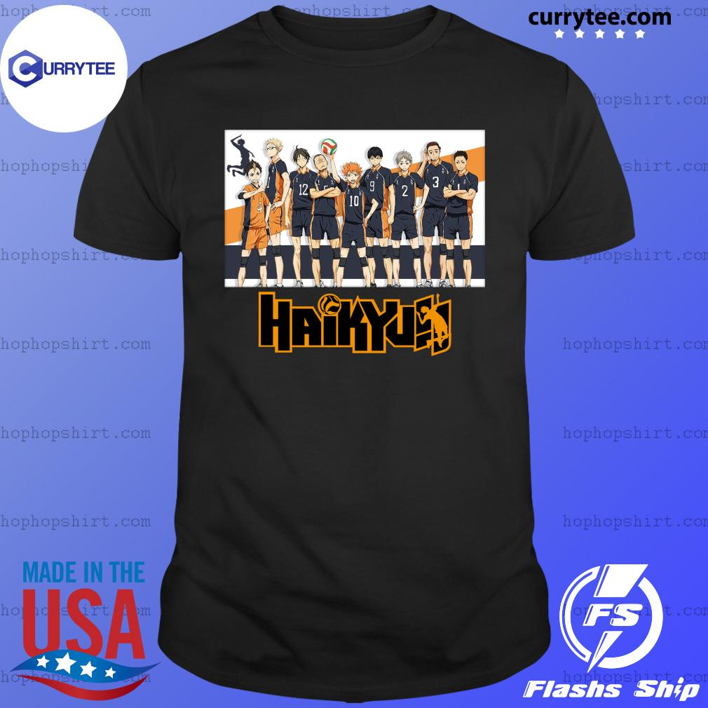 Bioworld Haikyuu Volleyball Team Fitted T-Shirt