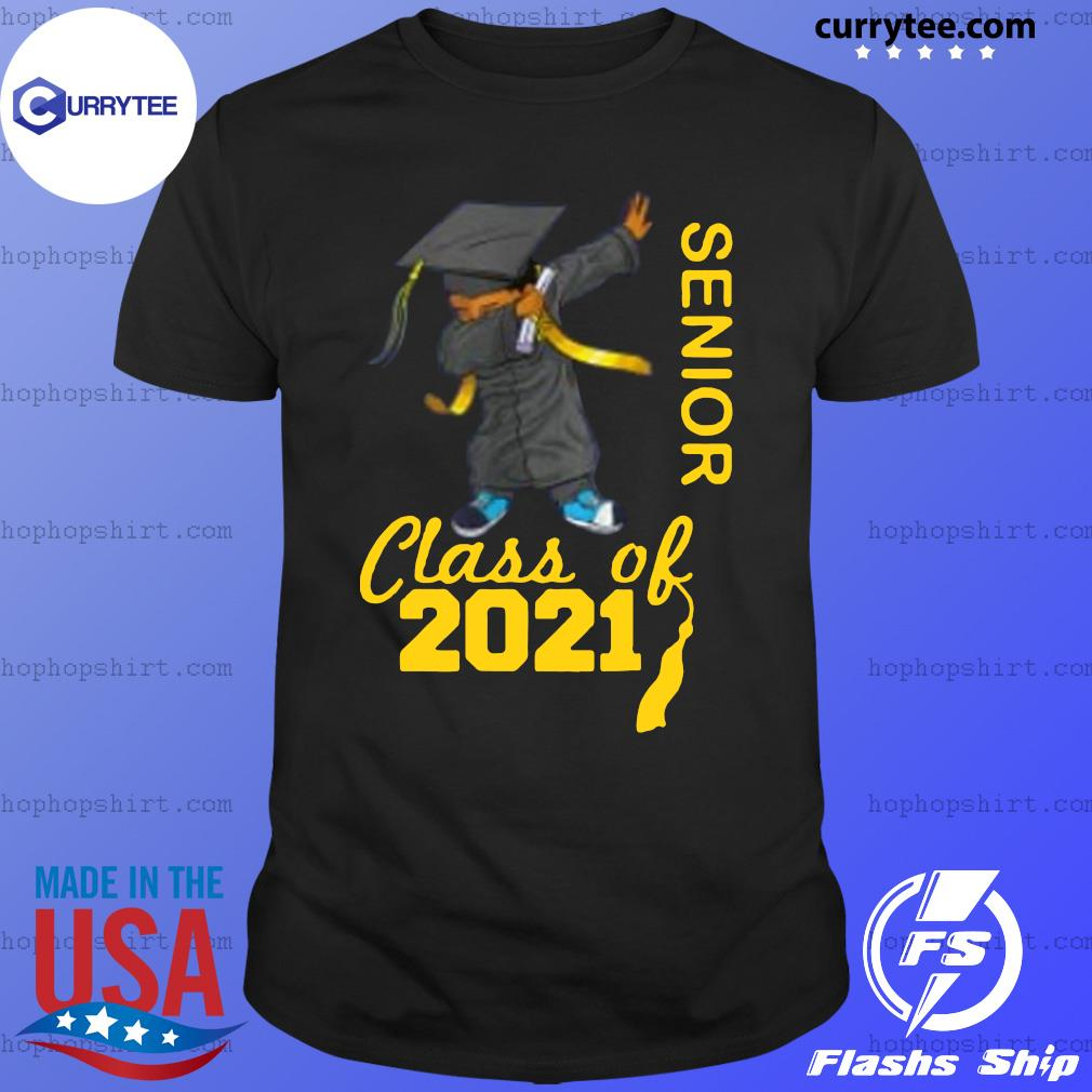 Dabbing Graduation Senior Class Of 2021 Shirt