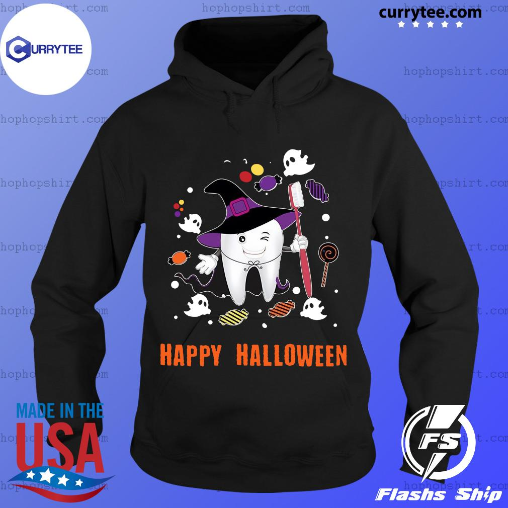 Happy Halloween Teeth Costume shirts Hoodie