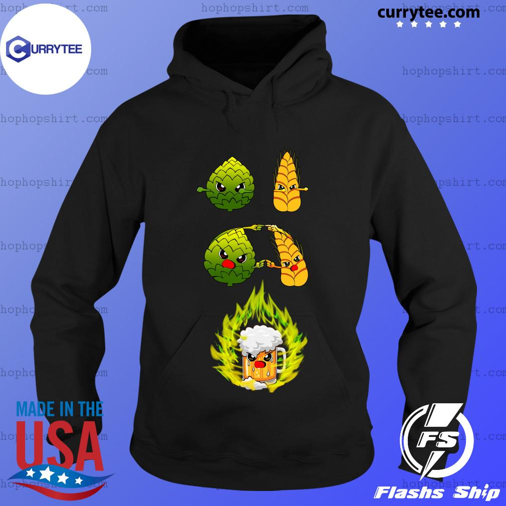 Hop And Barley Fusion Dance Brewing Beer s Hoodie