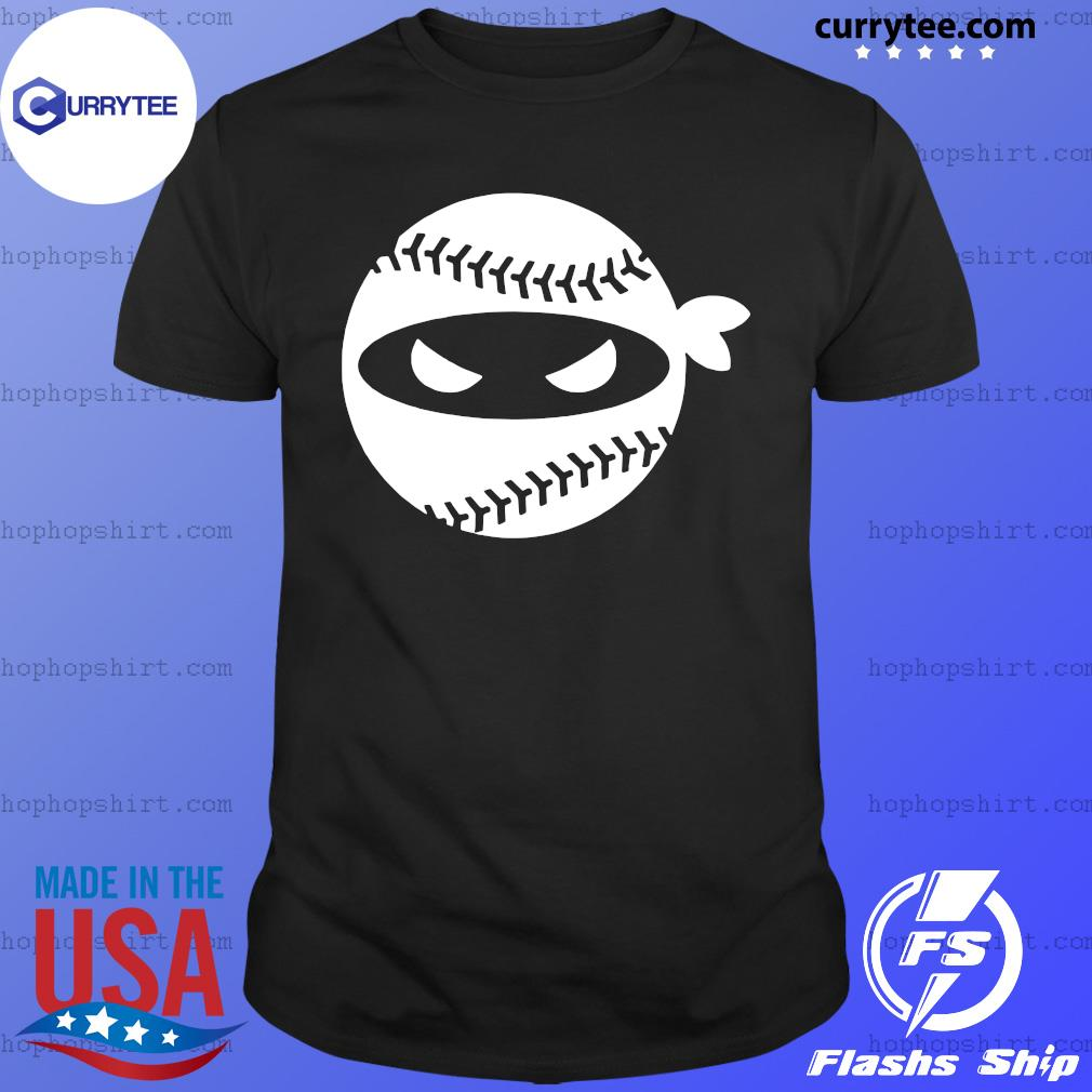 Pitching Ninja Onesie Baseball Shirt