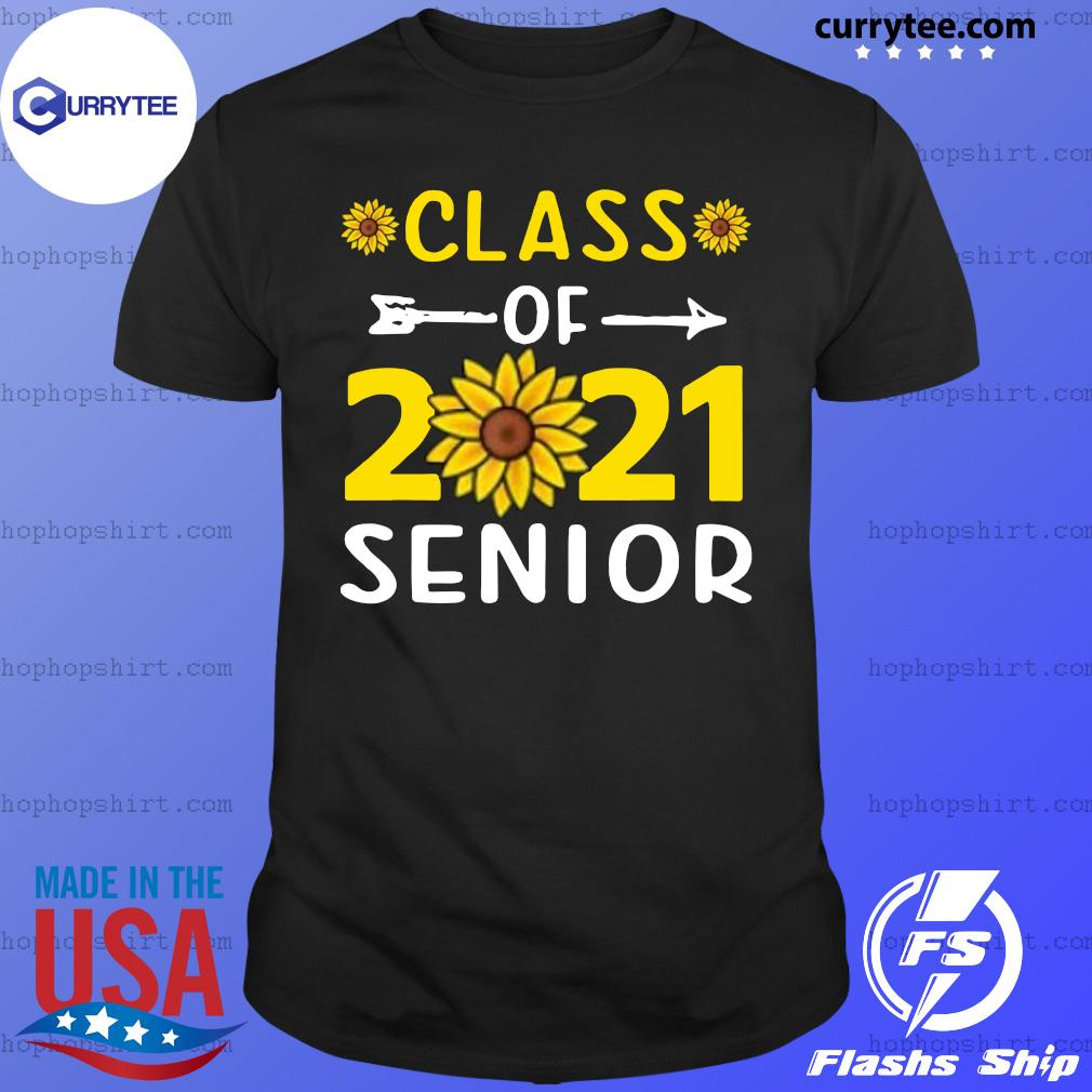 Sunflower Class Of 2021 Senior Shirt