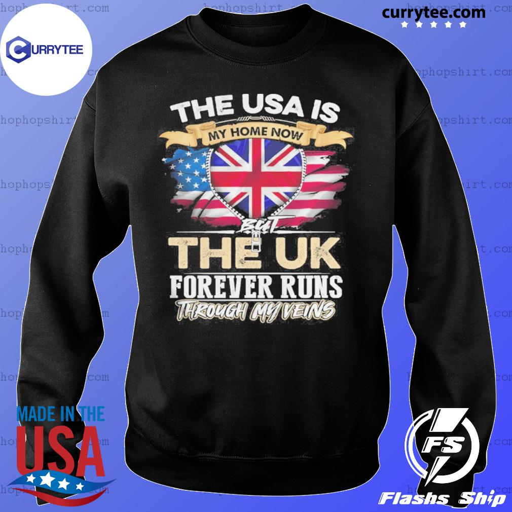 The USA Is My Home Now But UK Forever Runs Through My Evins s Sweater