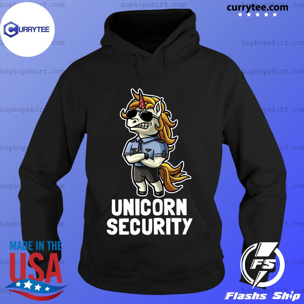 Unicorn Security Shirt Hoodie