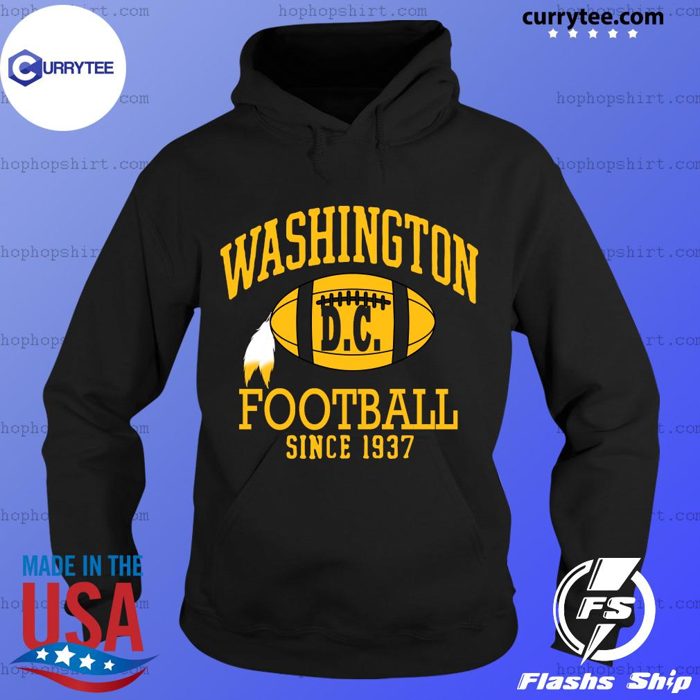 Vintage Washington Dc Football Since 1937 Shirt Hoodie