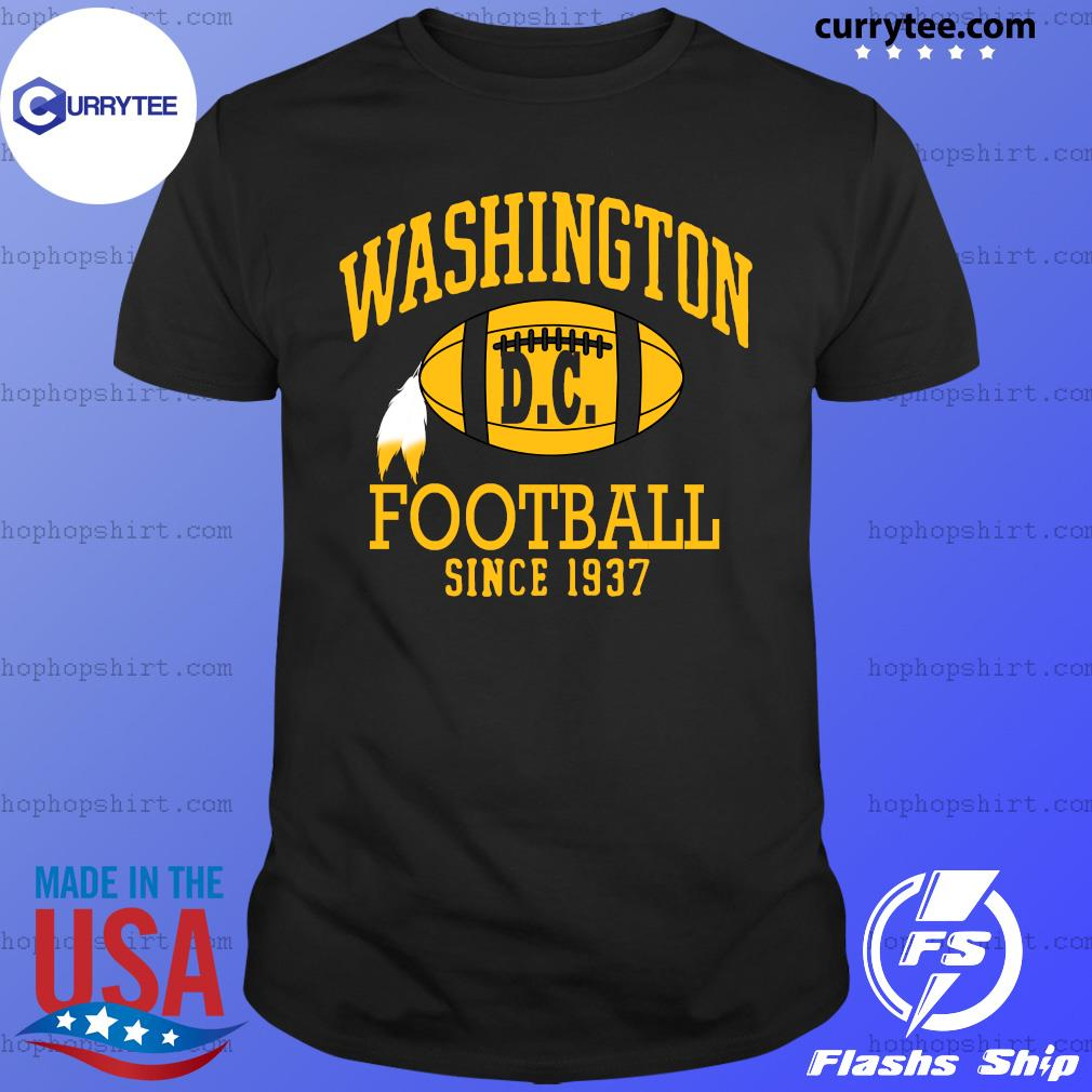 Vintage Washington Dc Football Since 1937 Shirt