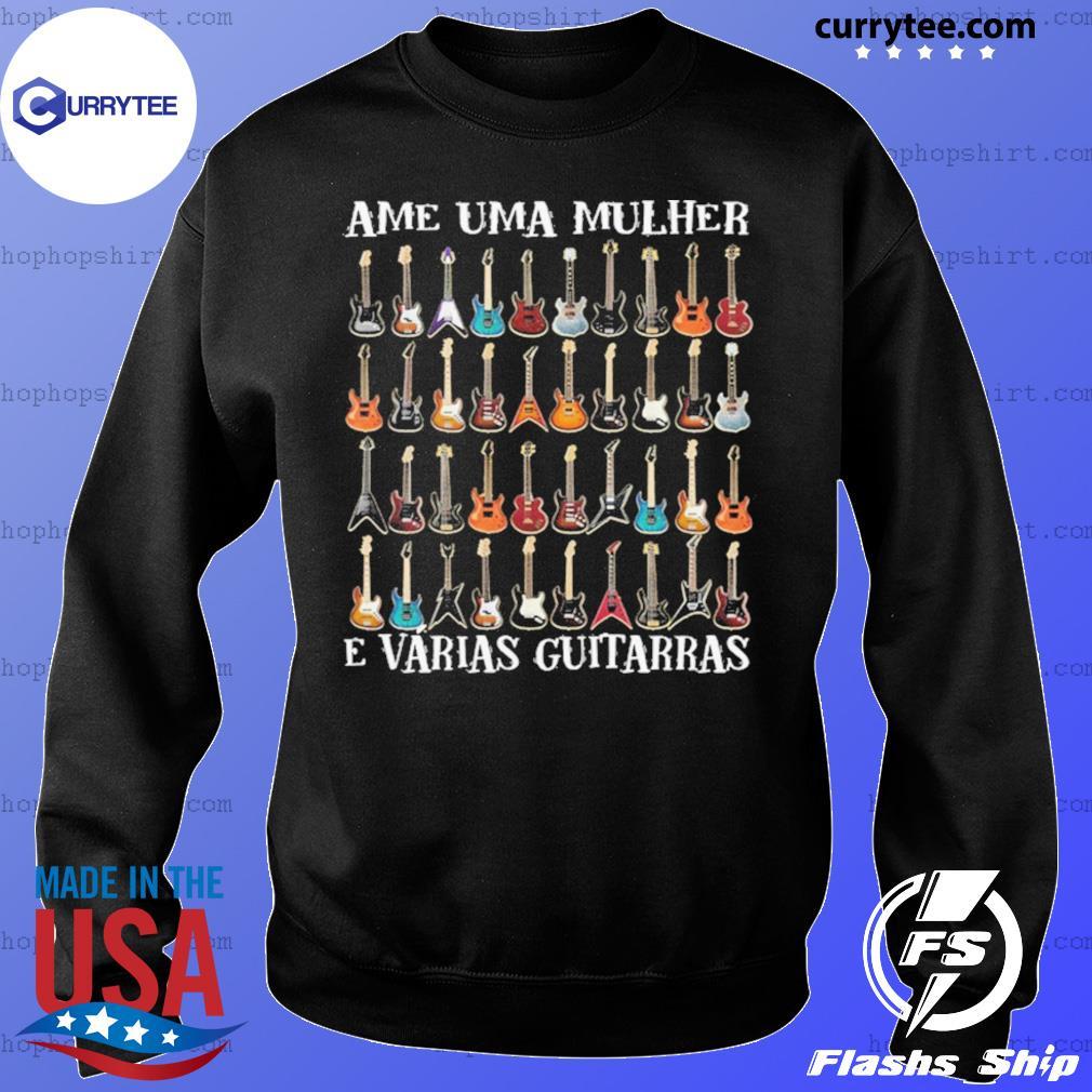 Ame Uma Mulher E Vrias Guitarras s Sweater
