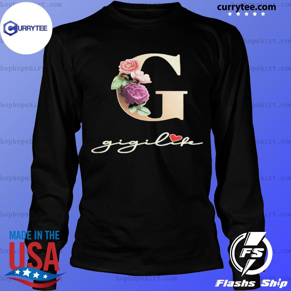 G Sunflower Gigi Life Heart Shirt LongSleeve