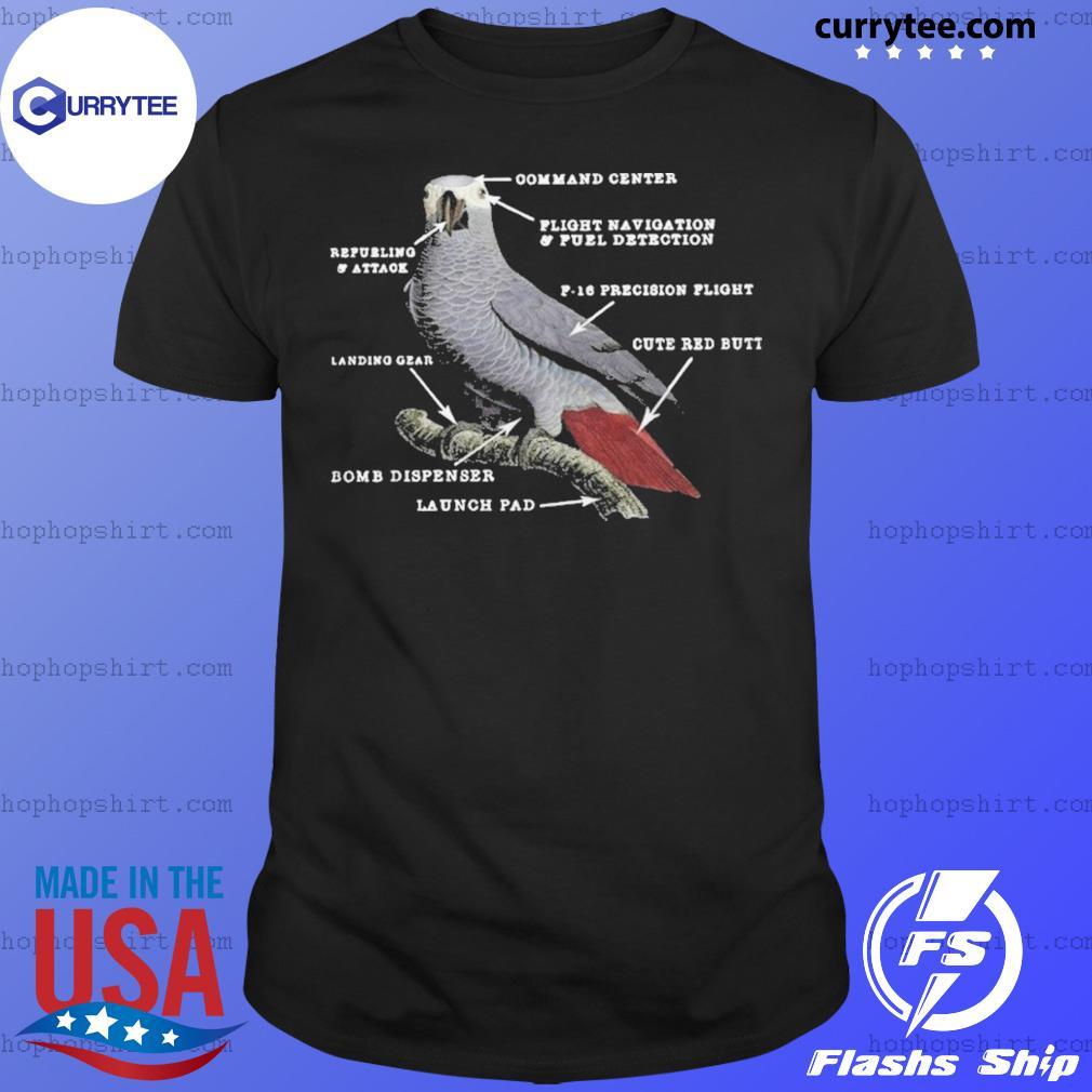 Parrot Anatomy shirt