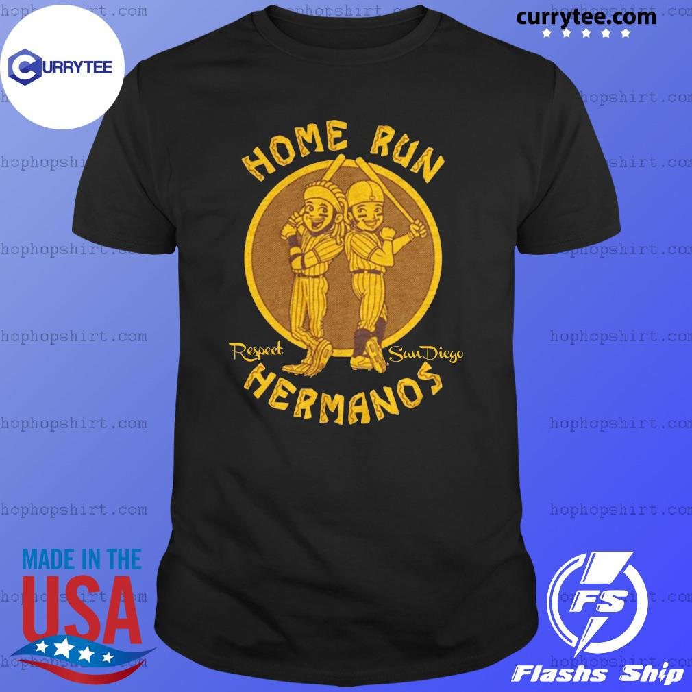 Home run react sandiego hermanos shirt