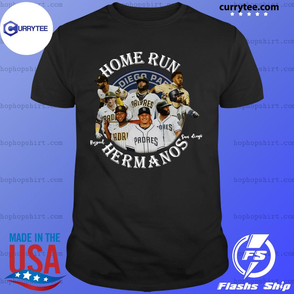 Home Run Respect San Diego Hermanos Player Shirt