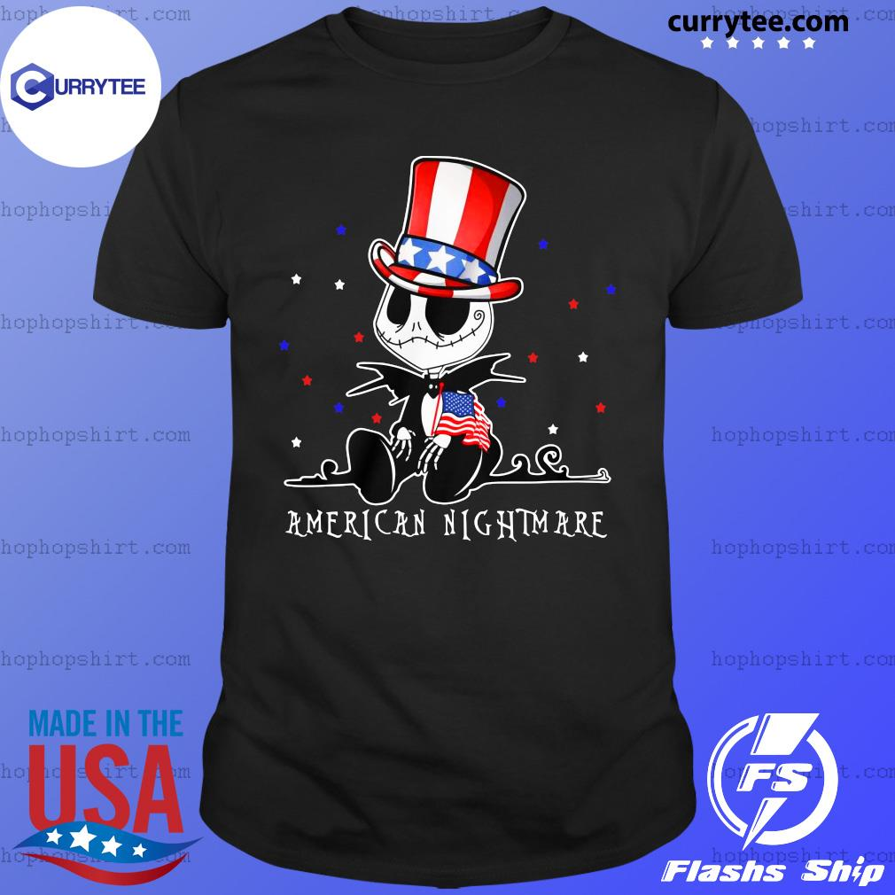 Jack Skellington American Nightmare Shirt