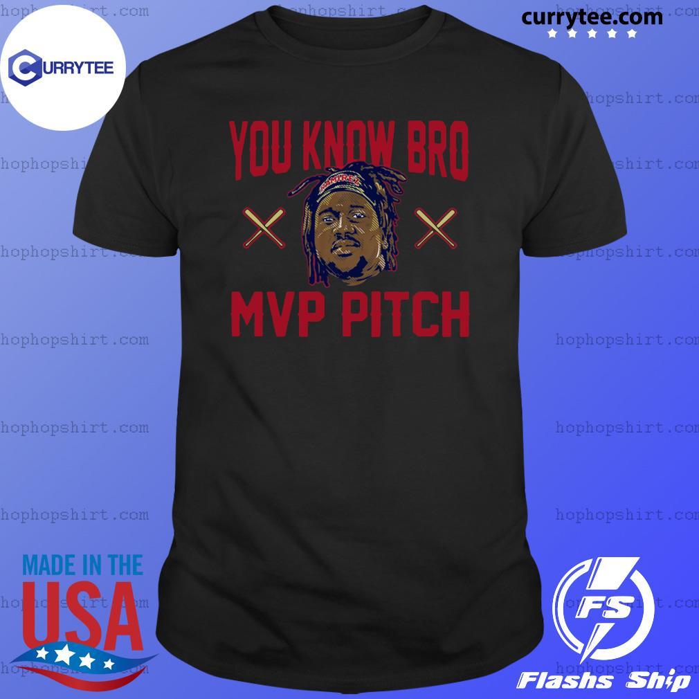 Jose Ramirez You Know Bro MVP Pitch Shirt