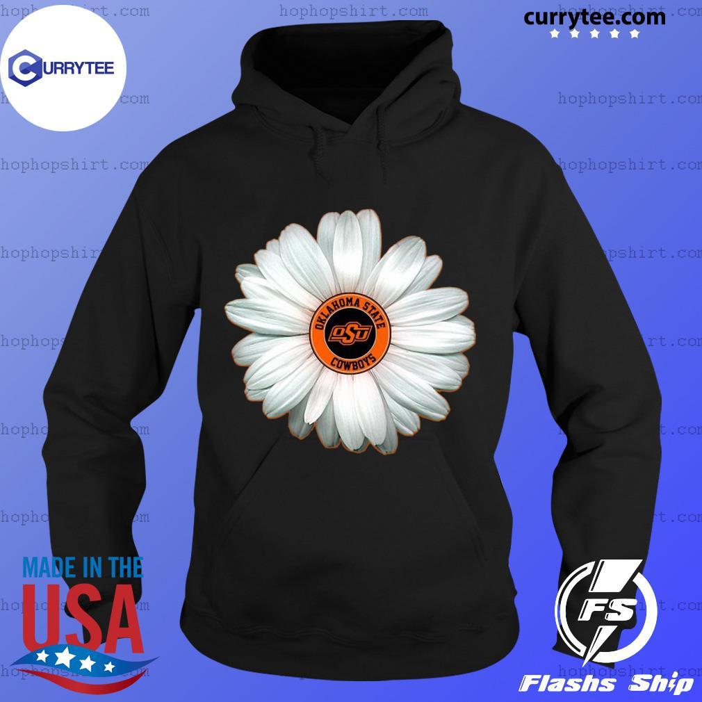Peaceminusone Flowers Oklahoma State Cowboy Shirt Hoodie